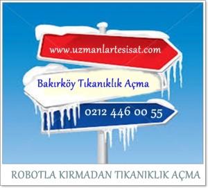 Bakırköy Tıkanıklık Açma SERVİSİ